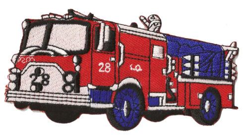 Écusson patche Camion Pompier Pompiers Fire Fighter patch transfert