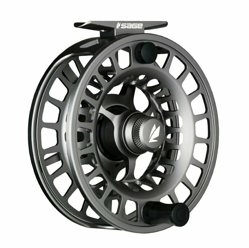 Sage Spectrum LT 7/8 Fly Reel - Color Silver - NEW - FREE FLY LINE