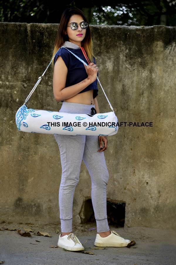 30 PC Wholesale Lot Mandala Yoga Yoga Mandala Bag Hippie Indian Cotton Yoga Mat Carrier Bag 9ec64b