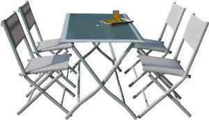 Tavolo 4 Sedie Da Giardino.G Del Re Tavolo Da Giardino Con Sedie Tavolo Pieghevole 4