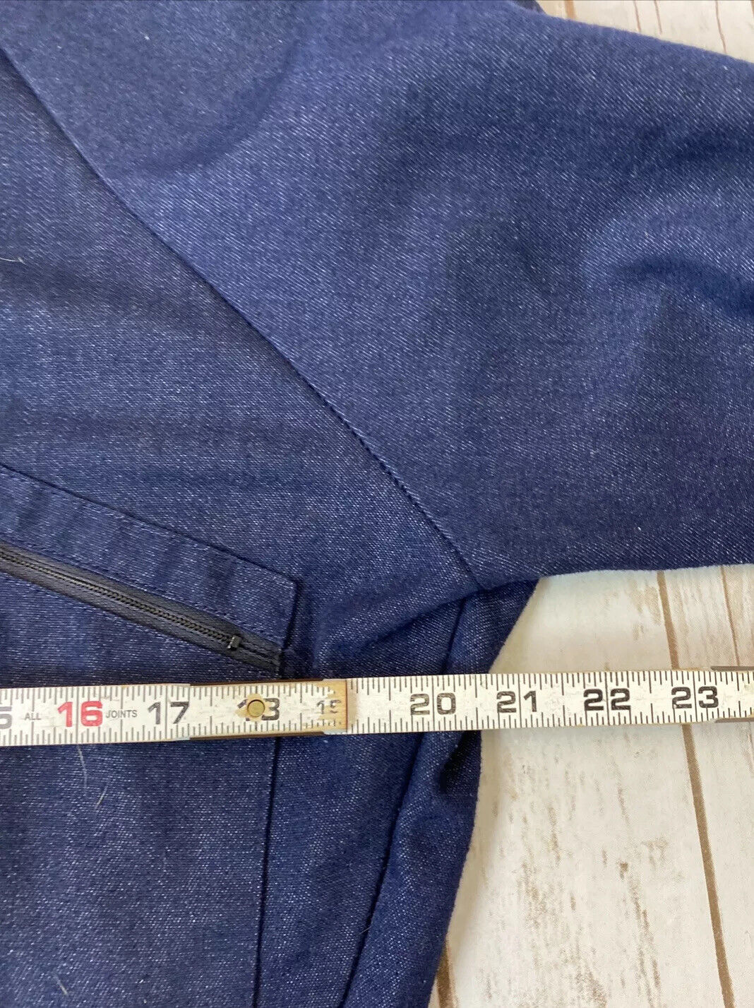 VTG ToughSkins Sears Denim Coveralls Sz 40S Workw… - image 7