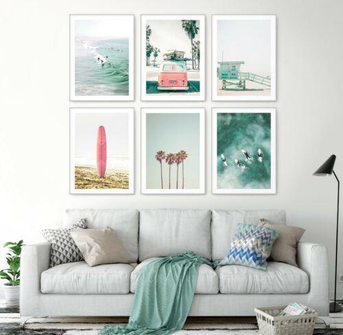 Great Home Decor A3 A2 A1 Sizes MIX /& MATCH Palm Tree Beach Wall Art Print