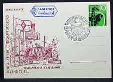 Lagerpost Brexbachtal 1958 Zeltlager Pfadfinder Sonderkarte Bund 10 Pf. (I-8641