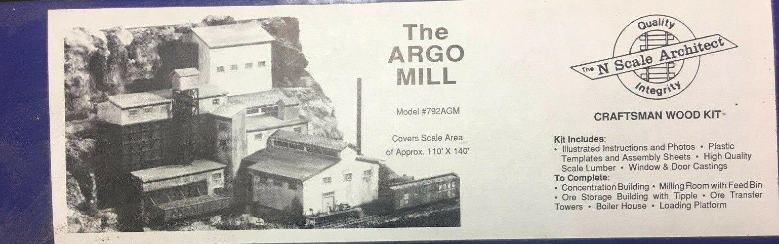 N skala Arkitekt Argo Mill modellllerlerl AGM