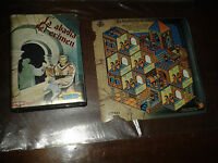 ABADIA DEL CRIMEN SIR FRED MISTER CHIP AMSTRAD CPC ESTUCHE DOBLE+ 6 STAMP BLOCK
