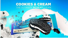 Quest Nutrition Protein Bars- COOKIES & CREAM -12 bars NEW FLAVOR Free usa ship