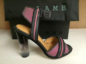 82b3fbb7bba L.A.M.B Lamb Carter Women s Fashion Designer Heels Open Peep Toe ...