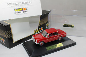 Mx554-Faller-mercedes-benz-200-8-trazo-8-w115-rojo-1-43-box-4371