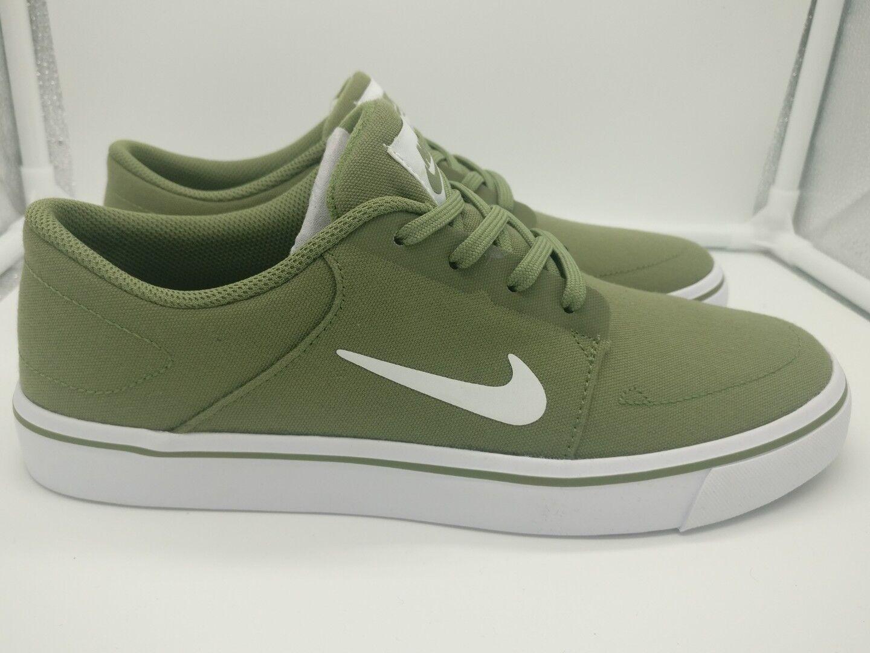 Nike SB Portmore Canvas6.5 Palm Green blanc 723874311