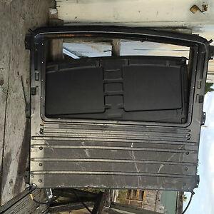Jaguar Xj6 Xj12 80 87 Factory Sliding Sunroof Inner Panel Undertray Rooflining Ebay