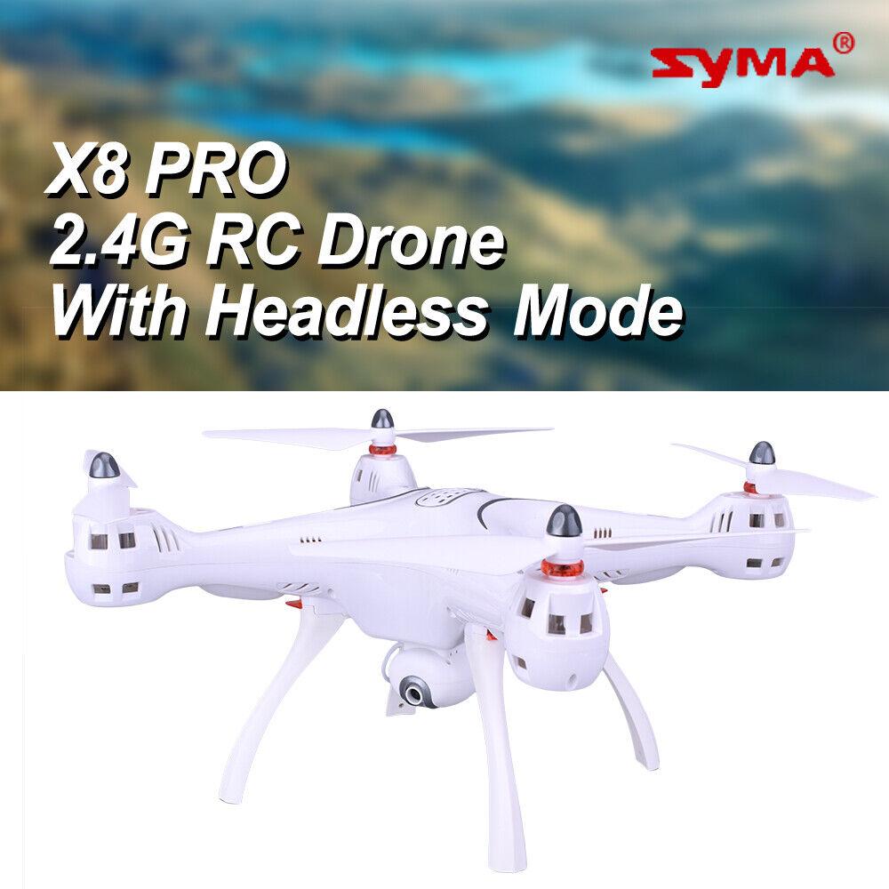 Syma X8PRO 2.4G 720P HD  Wi-Fi Videoteletelecamera FPV RC Drone con GPS in tempo reale senza testa EU  liquidazione