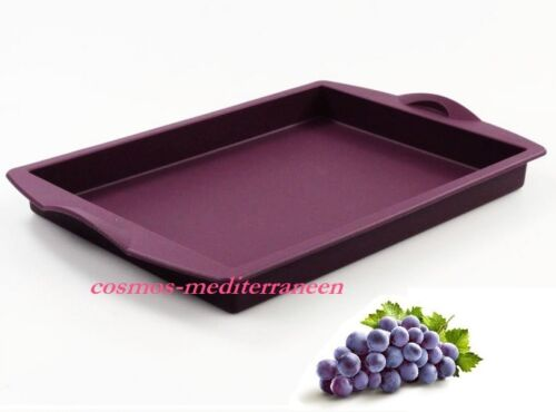 Tupperware Moule rectangle silicone violet neuf  k *