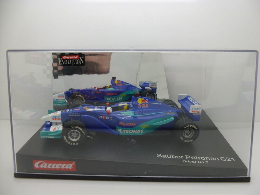 Carrera 25459 Evolution Formel 1, Sauber-Petronas C21 No.7, Mint unused and boxe