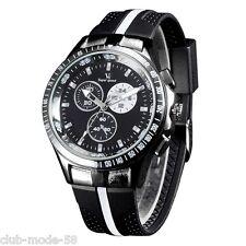 Montre Sport Watch V6 Top Qualité Homme Quartz Neuve Superbe Bracelet Silicone