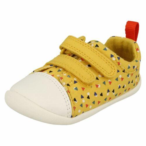 Childrens Boys Girls Clarks Pre-Walking Shoes Roamer Craft