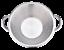 17-034-Stainless-Steel-Comal-Mexican-Carnitas-Cazo-Caso-Cooking-Pot-Outdoor-Wok thumbnail 3