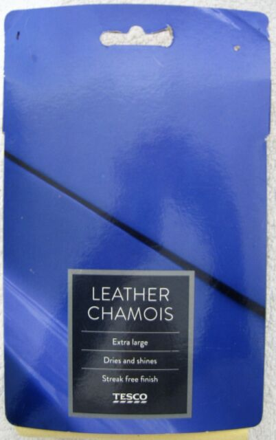 Chamois Leather Sheep Skin Cloth XL Dries & Shines Streak Free Car Cleaning