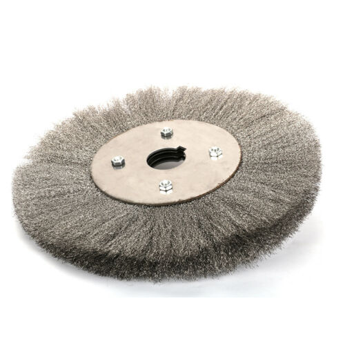 """3/""""~10/"""" Crimped Stainless Steel Wire Wheel Polishing Deburring For Bench Grinder"""