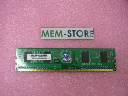 B4U36AA 4GB PC3-12800U 1600Mhz HP Compaq 8200 Elite//Pro 4300 6400 Desktop series