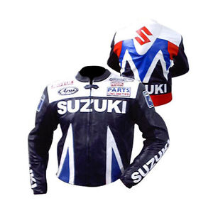 Suzuki Gsx Grey Motorbike Motorcycle Biker Cowhide Leather Armoured Pant/trouser Ture 100% Guarantee Parts & Accessories Apparel & Merchandise