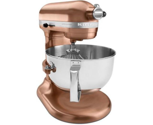 KitchenAid 600 Super Big Capacity 6-Qt Pro Stand Mixer RKp26m1xcp Satin  Copper