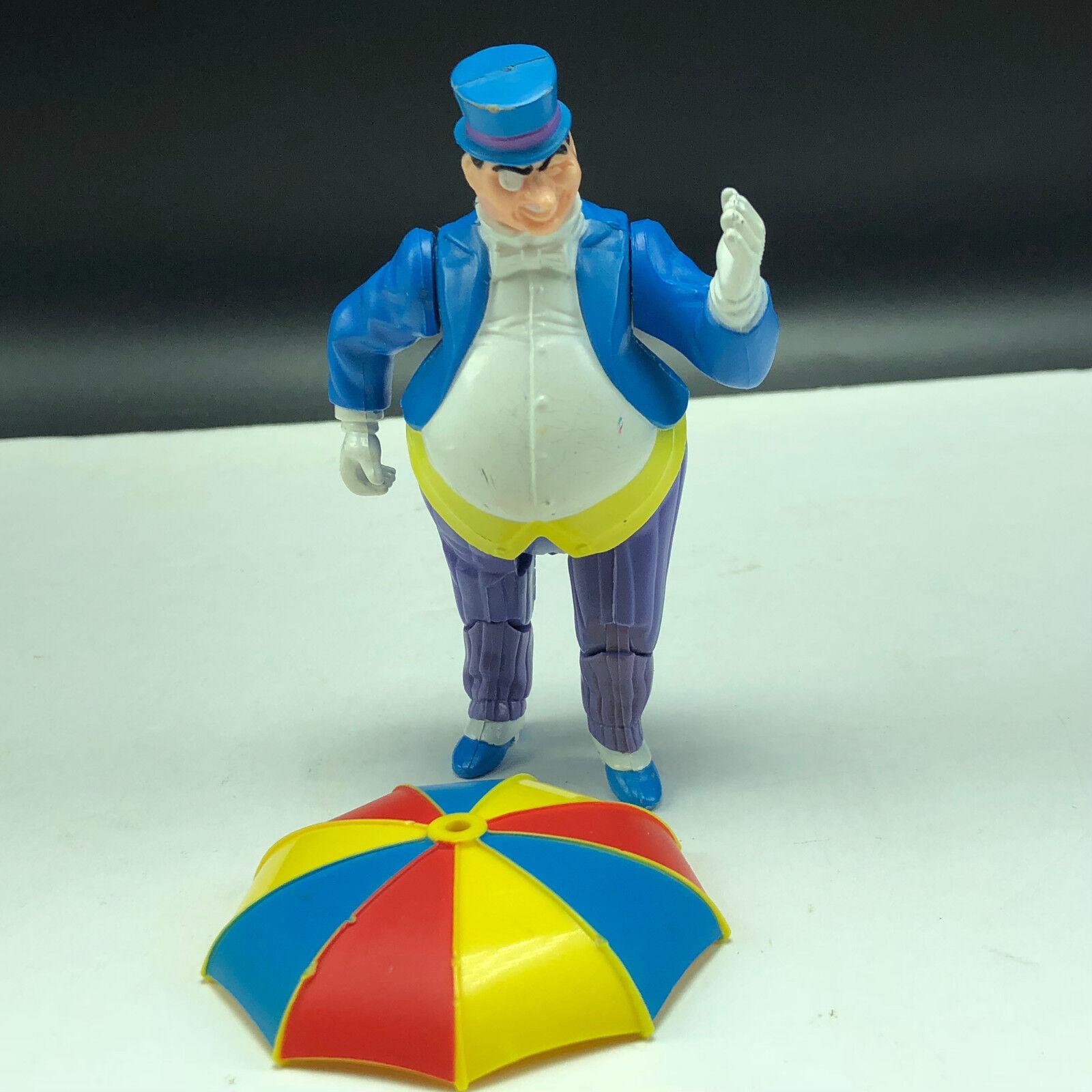 1984 SUPER POWERS ACTION FIGURE kenner justice league league league dc comics Penguin umbrella 18c8ff