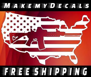 sticker American Flag WE THE PEOPLE Decal Jeep etc Vinyl Truck Car Windows