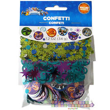 SKYLANDERS CONFETTI VALUE PACK (3 types) ~ Birthday Party Supplies Foil Tabletop