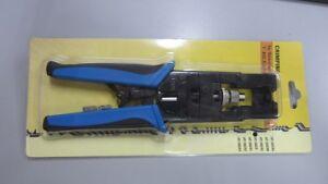 4C ,RG-6 RG-59 5C F BNC RCA connetor Professional Compression Crimping Tools