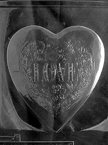Heart Pour Box Chocolate Candy Soap Mold w// Instructions /& choice of tops