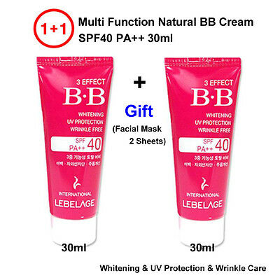 TPD 1+1 Multi Function SPF40 PA++ 30ml Korea Natural Cover BB Cream + Gift
