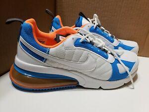 Details about New Sz 9.5 Nike Men AIR MAX 270 FUTURA White Total Orange Blue Heron AO1569 100