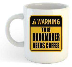 Warning-Esta-Bookmaker-Necesita-Cafe-Blanco-Taza-Regalo-Trabajo-Regalo