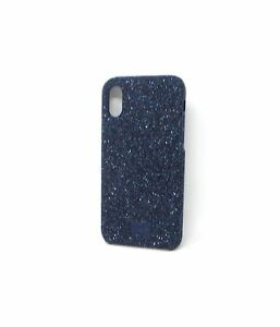 best website 9235f cbb45 Details about Swarovski Smartphone Case with Bumper for Apple iPhone X Blue  16072VRP Bare