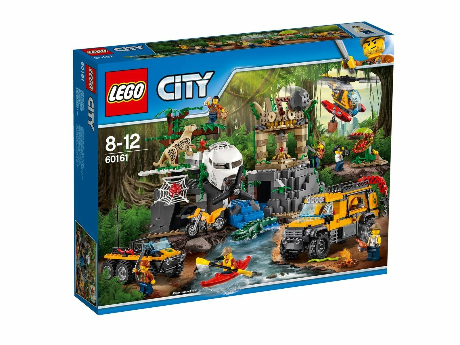 LEGO City Dschungel-Forschungsstation (60161) NEU/OVP mit Sofortversand