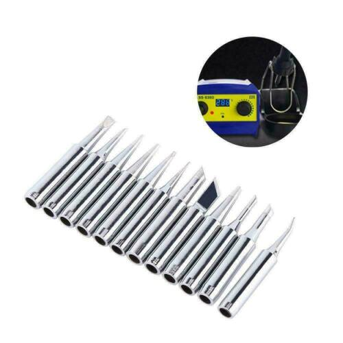 12pcs Soldering Iron Tips 900M-T For Hakko 936//937//928 T W7I2 Station R5P6