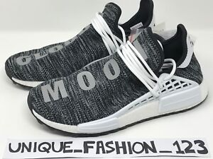09c5b37b8 ADIDAS NMD HUMAN RACE PHARRELL HU TR PW UK 7 8 9 10 TRAIL BLACK ...