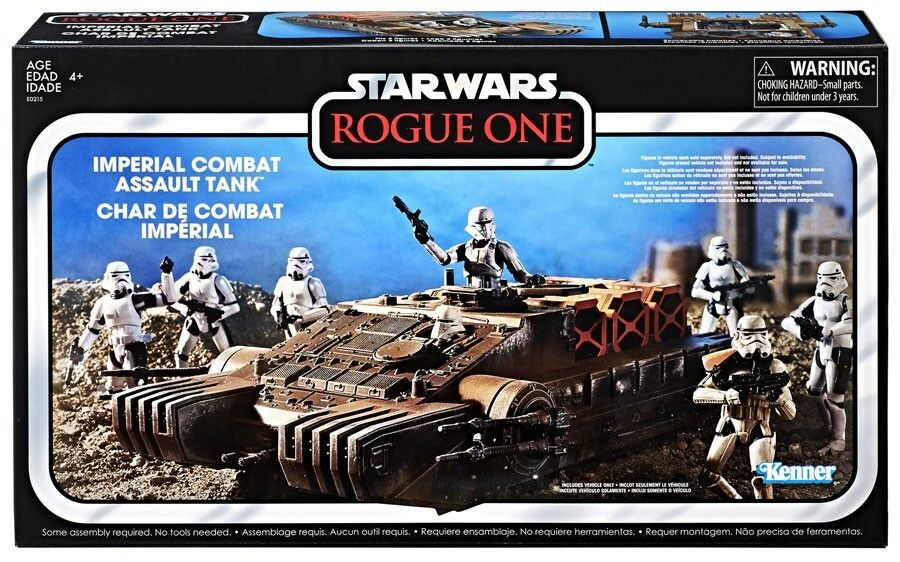 Star Wars Rogue One vintage collection Imperial Combat Assault hovertank véhicule