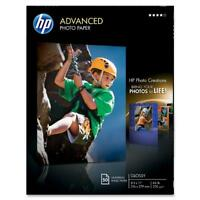 Hp Glossy Advanced Photo Paper For Inkjet, 8.5 X 11 Inches, 50 Sheets (q7853a), on sale