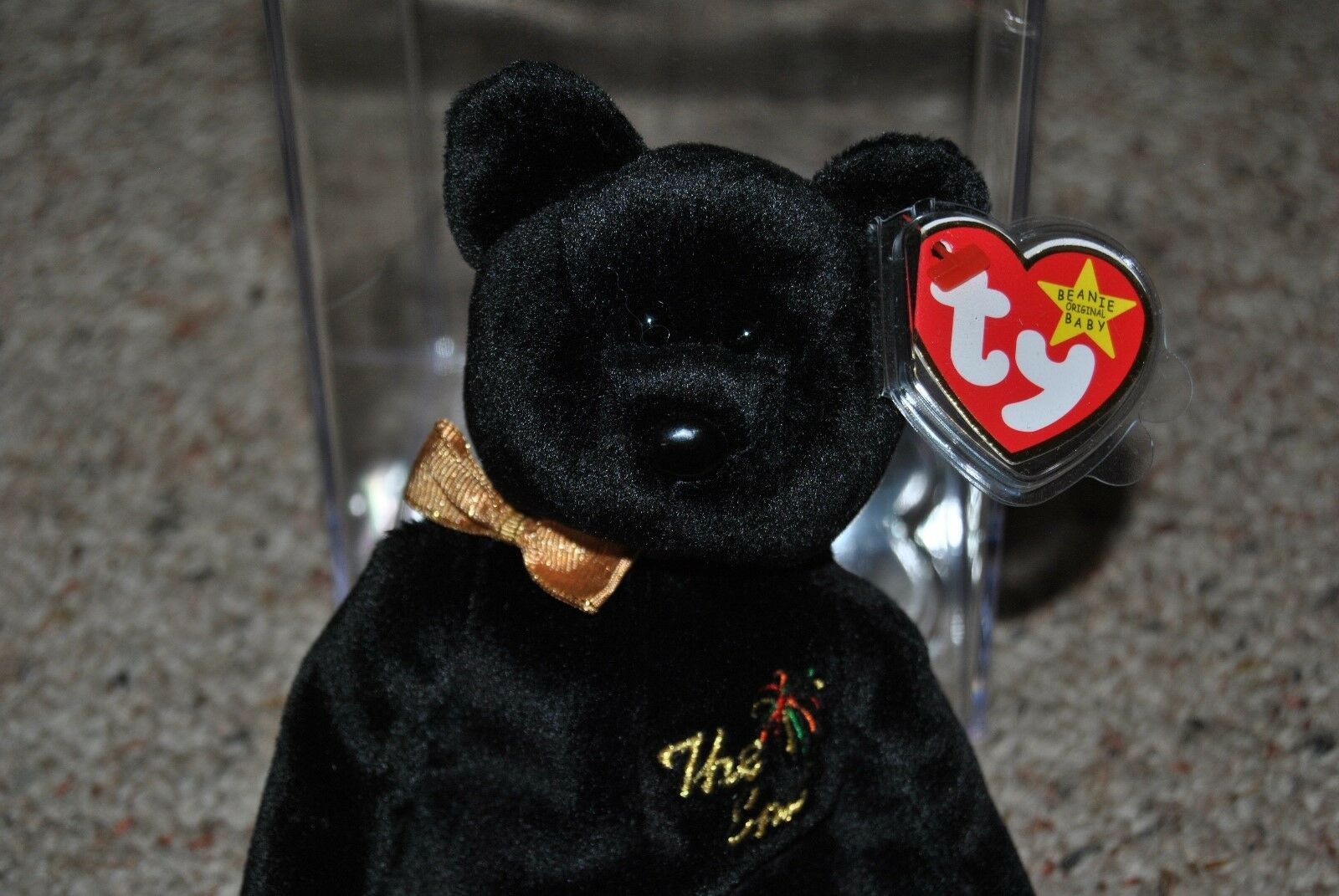 Ty Beanie Baby  THE END  the Bear 1999 in excellent condition
