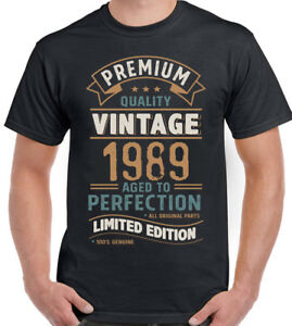 Vintage-Year-1989-Limited-Edition-30th-Birthday-Mens-Funny-T-Shirt-30-Year-Old