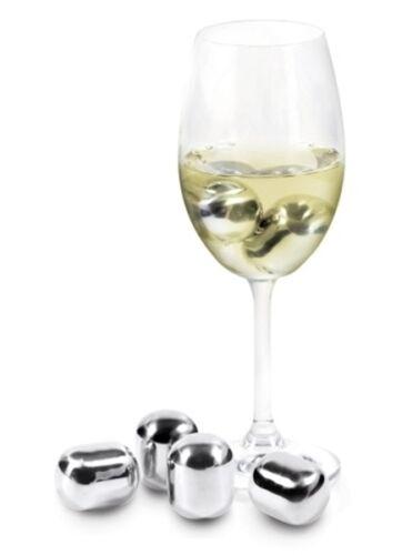 aber nicht verwässert Contento NEU Wein kühl Edelstahl Eiswürfel Wine Pearls