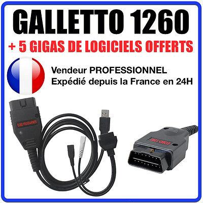 Câble / Interface Galletto 1260 + Logiciels Ecusafe & Immokiller- Mpps Kess Ktag Avere Una Lunga Posizione Storica