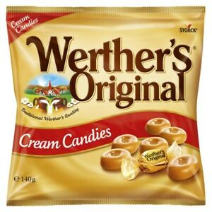 Werther's Original Cream Candies 140g