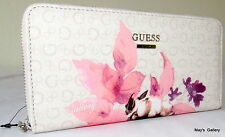 Guess Jeans Wallet CheckBook Holder Handbag  Purse Hand Bag Tote Coin Zip NWT