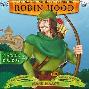 Mark Isaacs 2-Disc Robin Hood, A Tale of Two Cities, Ivanhoe+Rob Roy 1M1 Records