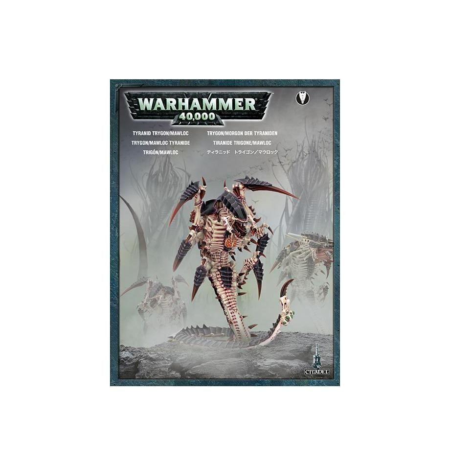 Warhammer 40K  Tyranid Trygon Mawloc Tyranids plastic nouveau  branché