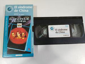 EL-SINDROME-DE-CHINA-LEMMON-FONDA-DOUGLAS-VHS-CAJA-CARTON-CASTELLANO-EL-MUNDO