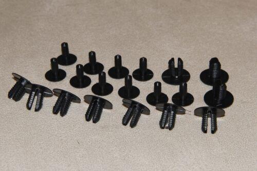 tapis et garnitures Range Rover 8mm plastique clips rivets-panneaux de garniture intérieure