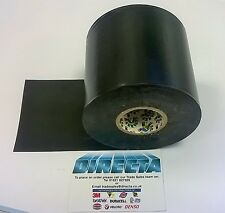 """1 BLACK ELECTRICAL PVC INSULATION TAPE 3"""" 75mm 33m EXTRA LONG SUPER WIDE BS3924"""